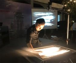 Nguyễn Tiến biểu diễn tại Huy Việt Tây Đô